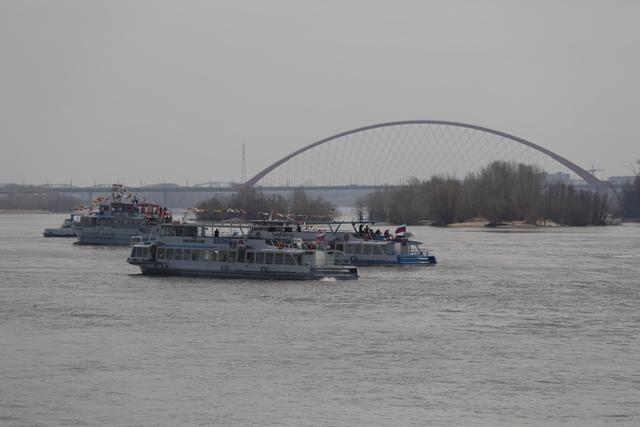 Навигация на реке Обь началась в Новосибирской области