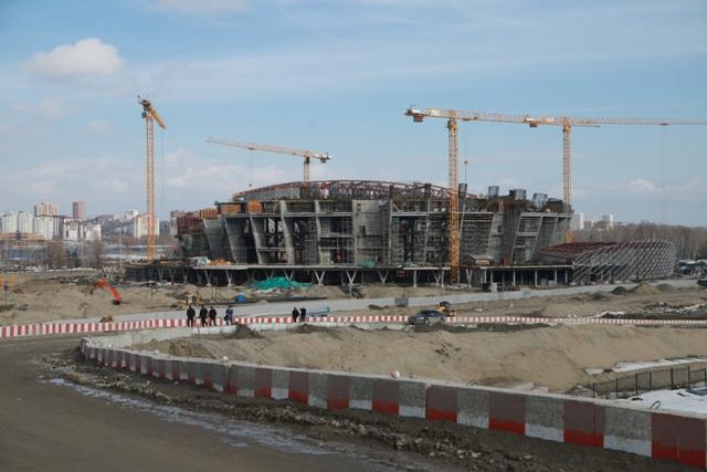 На строительство новой ледовой арены в Новосибирске выделят еще 865 млн рублей
