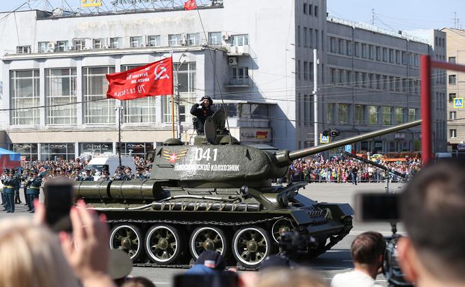 Полная программа празднования Дня Победы-2021 в Новосибирске