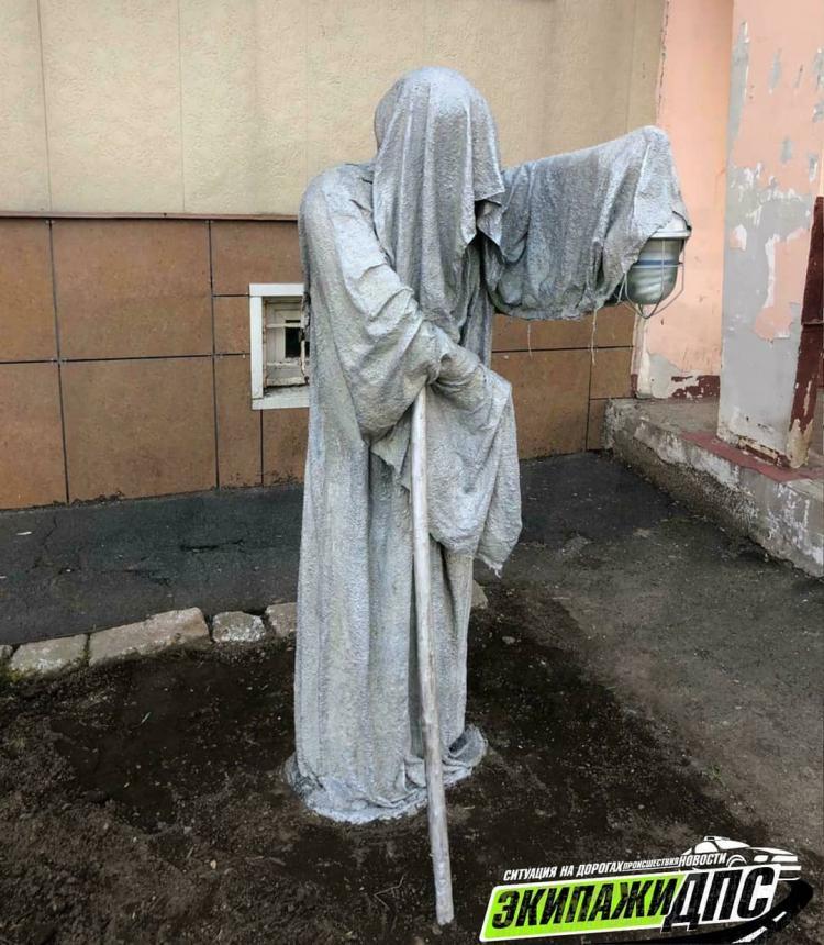 «Если увидите ночью, не пугайтесь»: владивостокцы – о новой скульптуре