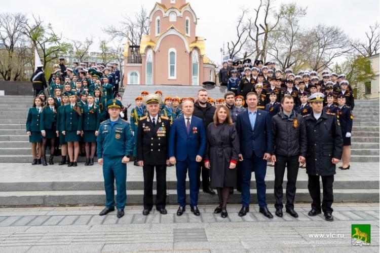 Акция «Вахта памяти» стартовала во Владивостоке в преддверии Дня Победы