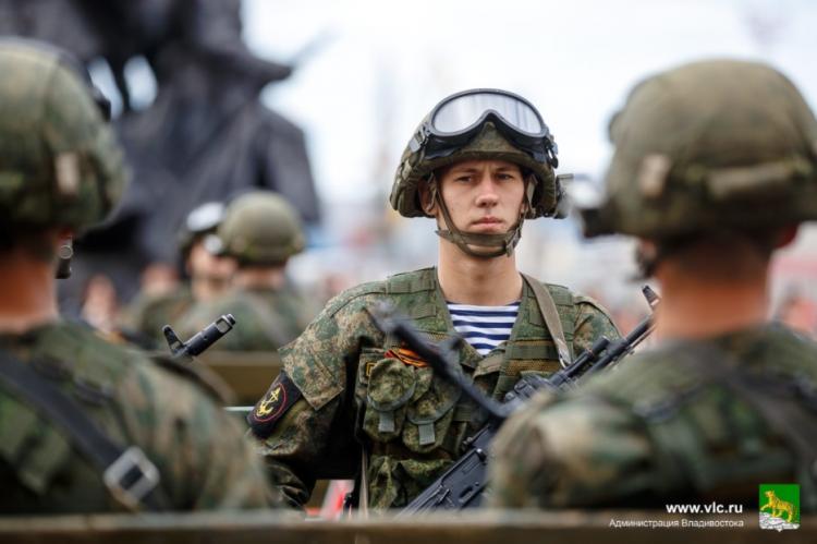 Во Владивостоке продолжается весенний призыв в Вооруженные Силы