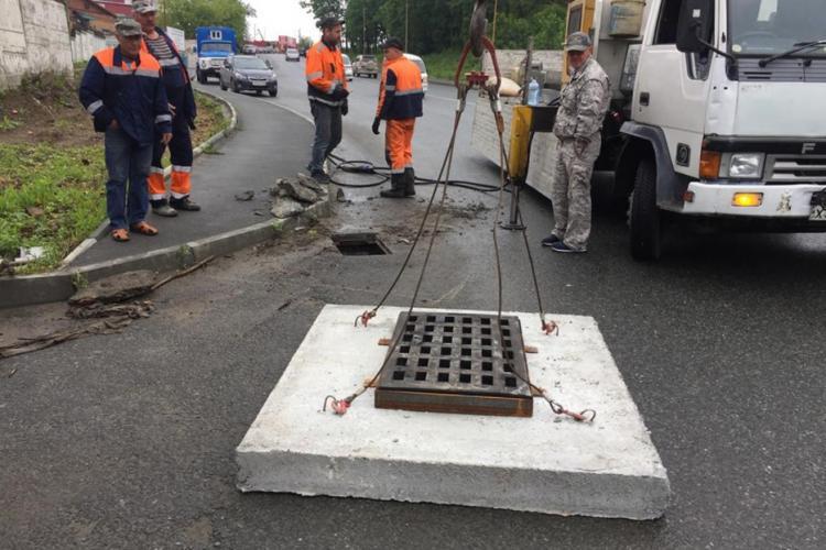 На улицах Котельникова и Жигура обустроят ливневую канализацию