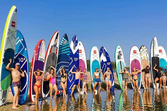 Мода на SUP-серфинг захлестнула Новосибирск:  как  выбрать  доску