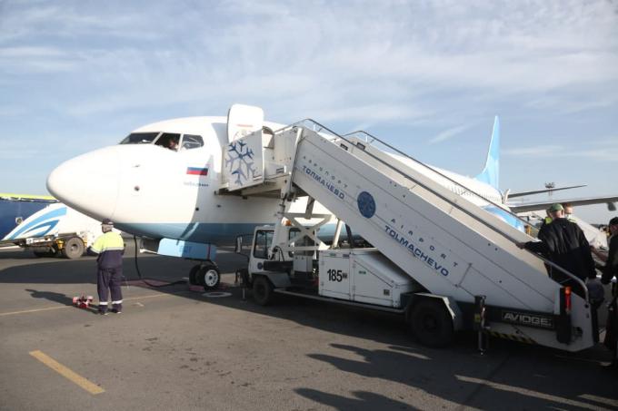 За курением в туалете поймали пассажирку рейса Сургут-Новосибирск