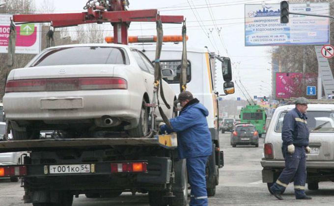 Нетрезвый новосибирец сжег автомобиль, чтобы избежать штрафстоянки