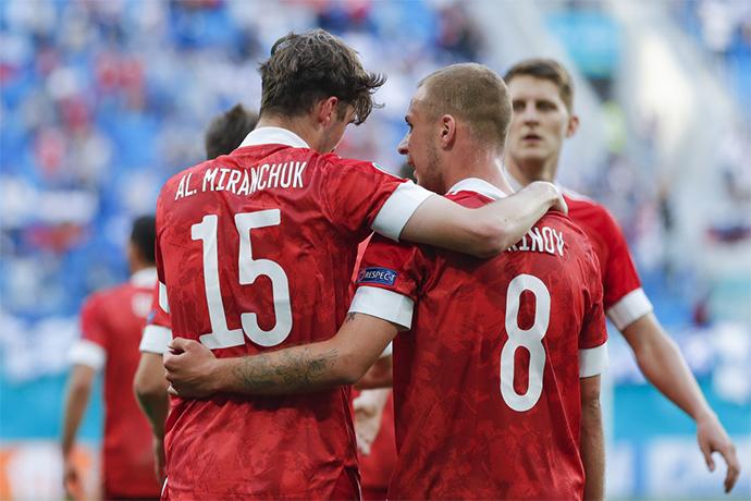 Футбол ЕВРО-2020 Россия – Дания 21 июня 2021: где и во сколько смотреть по ТВ