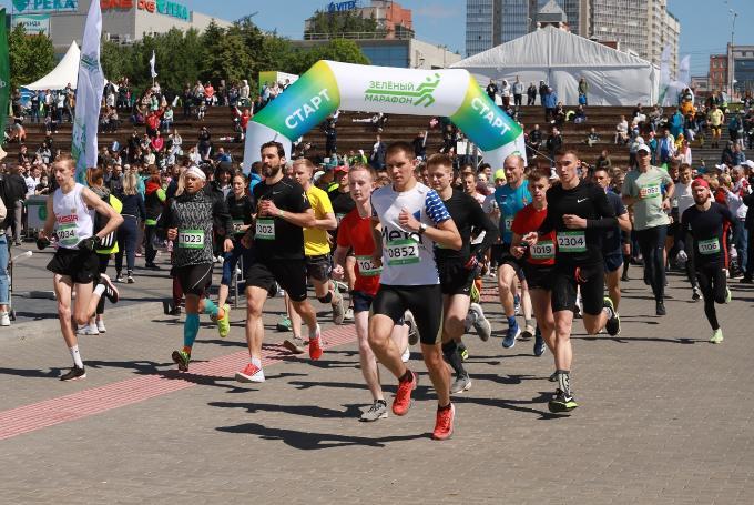 «Зеленый марафон» пробежали более 3000 новосибирцев