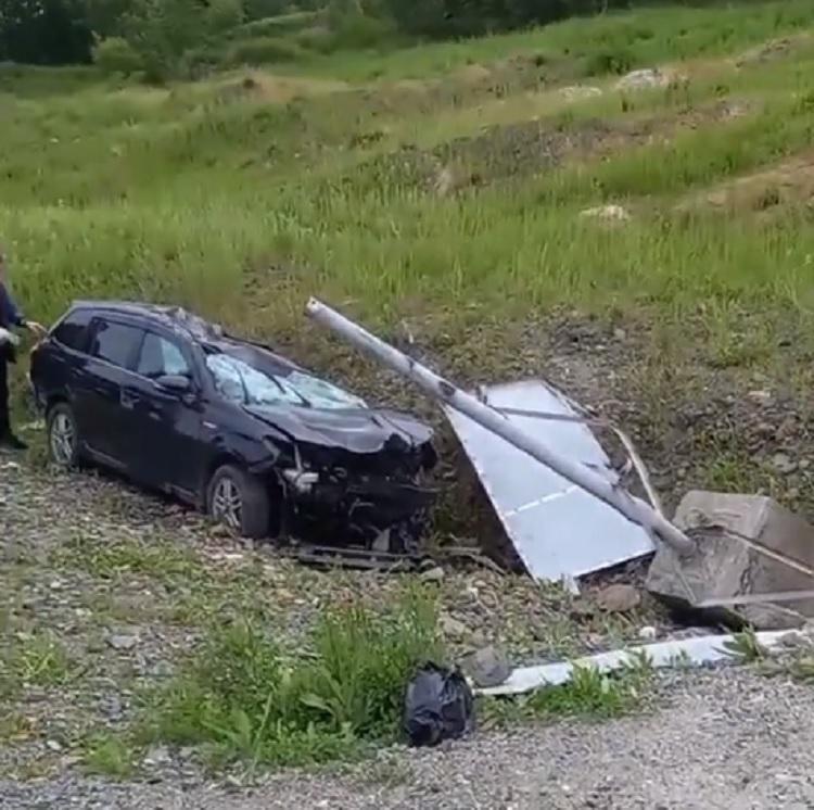 Серьёзное ДТП произошло на трассе в Приморье