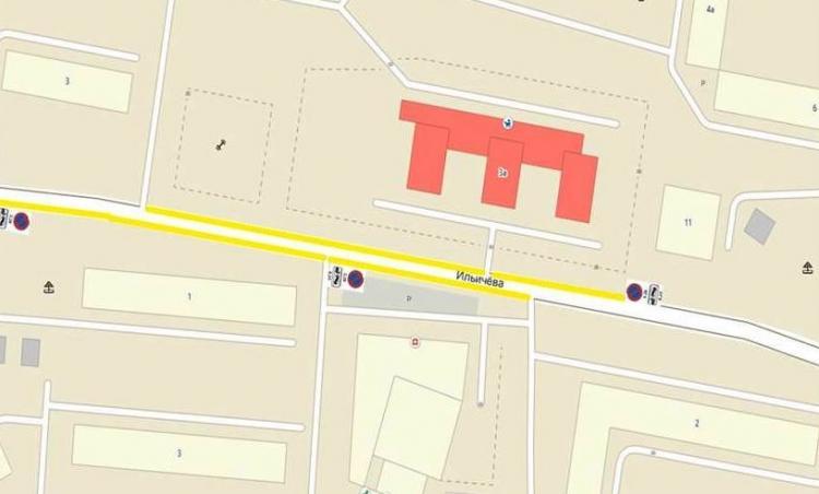 Участок рядом с детским садом на Ильичева сделают более безопасным