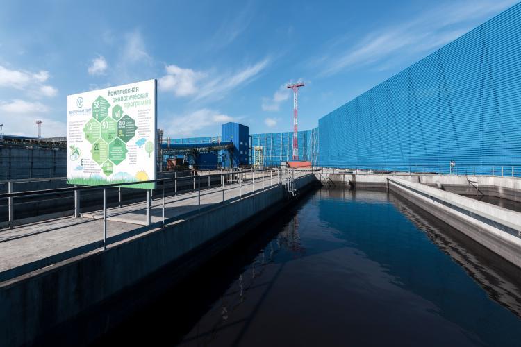 «Восточный Порт» завершает возведение ветрозащитных сооружений