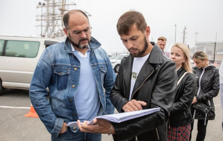 Во Владивостоке началось благоустройство 30-го причала