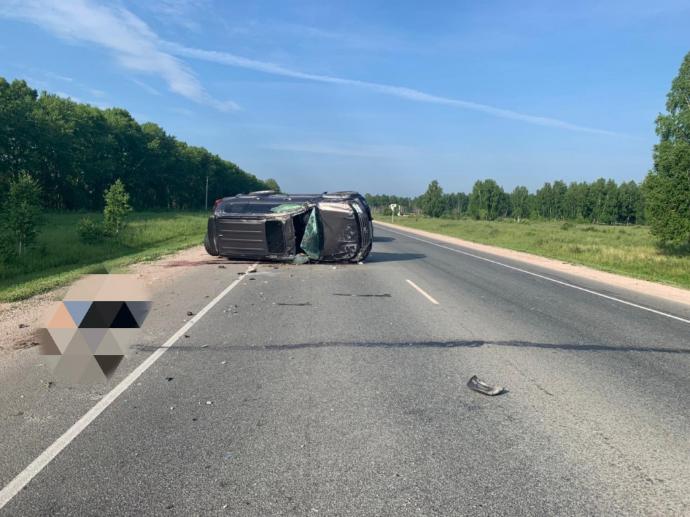 Смертельное ДТП на Ордынской трассе, водителя  выбросило из внедорожника