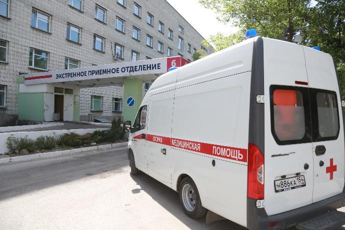 Областную больницу готовят к перепрофилированию под ковидный госпиталь в Новосибирске