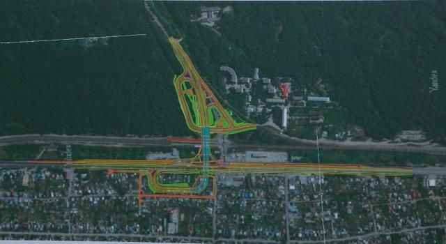 Андрей Травников рассмотрел проекты транспортных развязок на Бердском шоссе