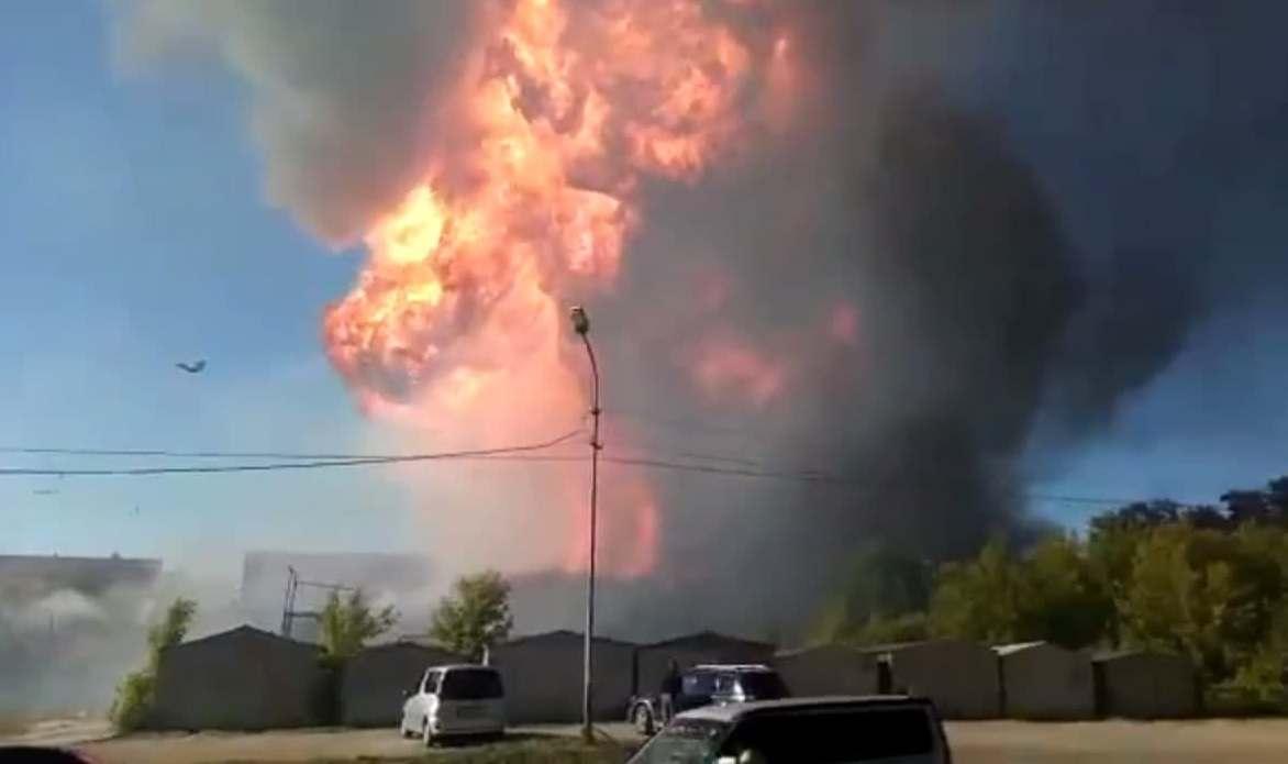 Владельцы рухнувших от взрыва складов подали в суд на хозяина заправки «ЕВРОГАЗ»