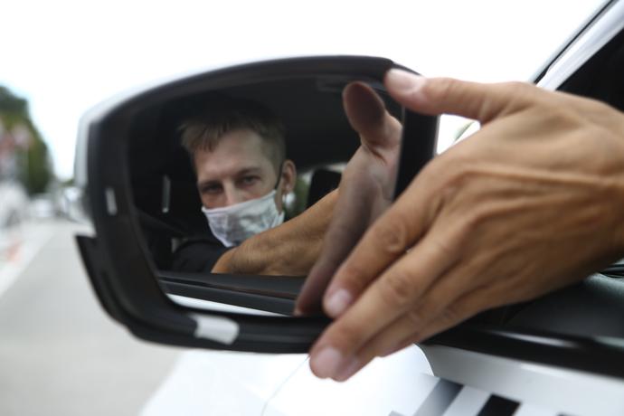 Новосибирец угнал Subaru Forester вместе с ребенком и попал в ДТП