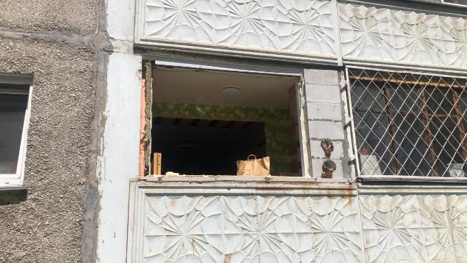 Взрыв газа произошел в жилом доме в Новосибирске
