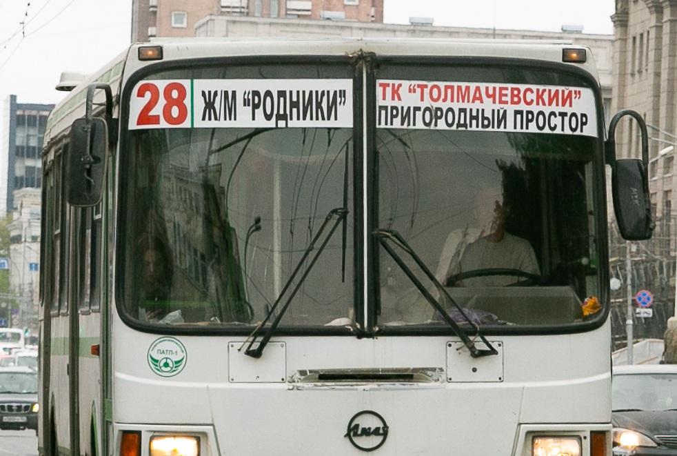 В Новосибирске трехлетний пассажир автобуса №28 разбил голову