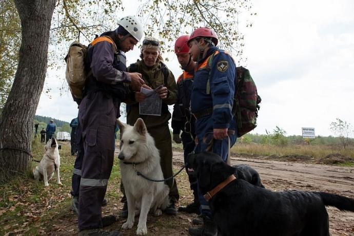Жену и мужа со сломанной ногой отыскали в лесах Мошковского района