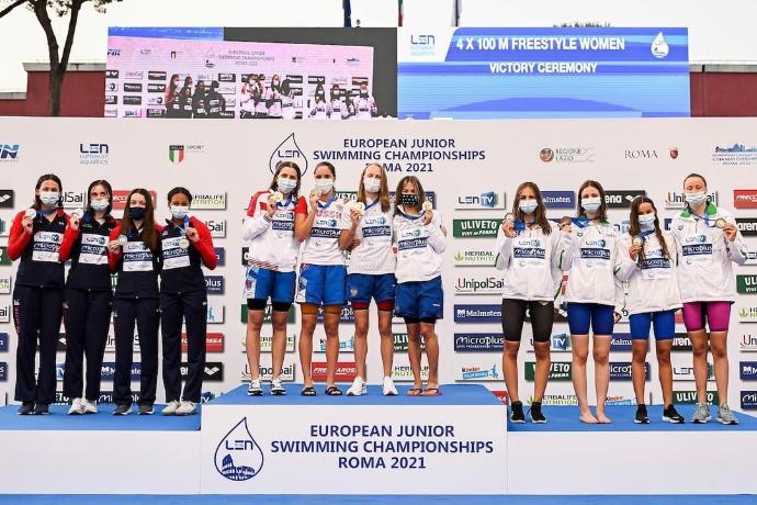 Новосибирские спортсменки установили рекорд на первенстве Европы по плаванию