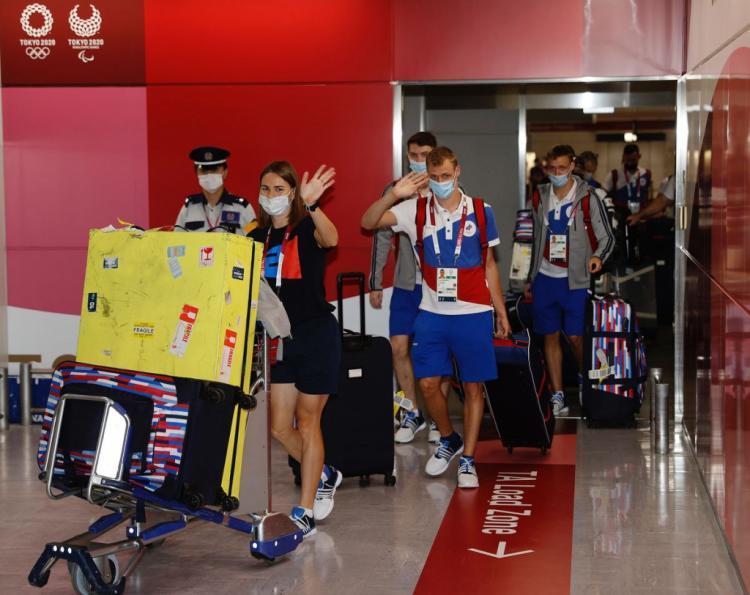 Приморцы заряжают отечественных олимпийцев на победу