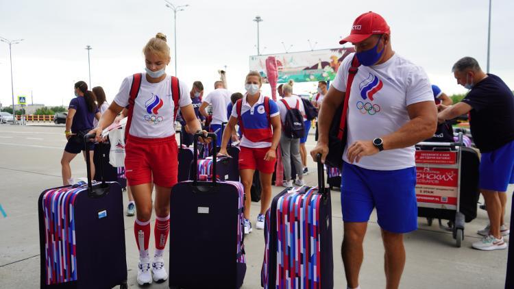 Спасибо, Приморье: олимпийцы отправляются из Владивостока в Токио