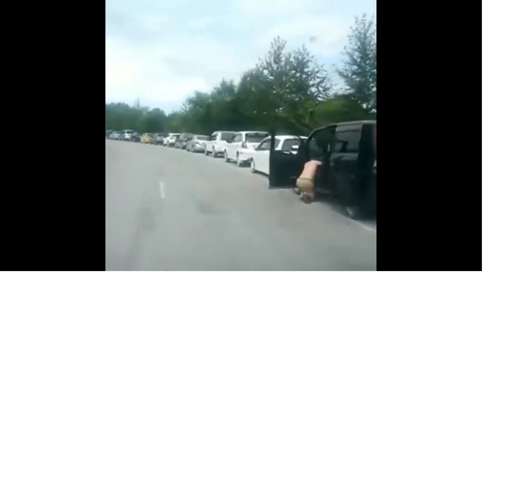 Дефицит топлива в Приморье вновь привел к очередям из сотен машин