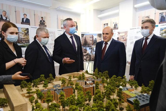 Проект кампуса мирового уровня НГУ одобрен Координационным советом