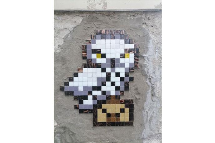 Десятки пиксельных мозаик появились на стенах зданий Новосибирска