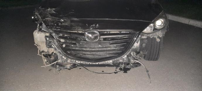 Житель поселка Березки на чужом автомобиле разгромил четыре машины