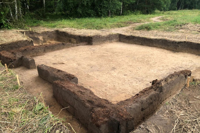 Археологи обнаружили третью башню Умревинского острога