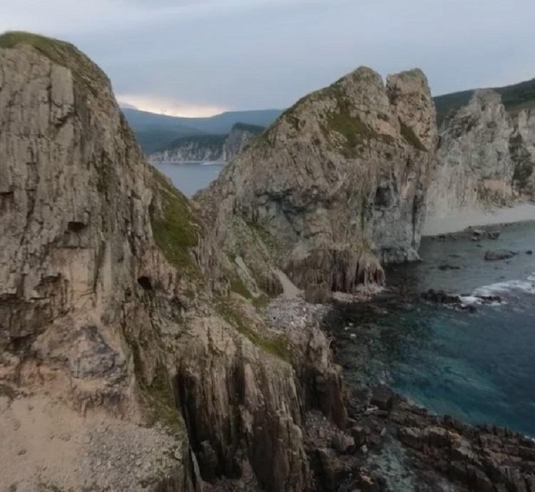 «Спасибо за полет»: приморец поделился невероятным видео со своего дрона