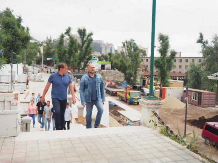 «Умная» парковка появится в Матросском сквере Владивостока