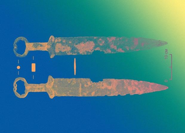 Новосибирские археологи датировали скифской эпохой железный меч из пункта металлолома