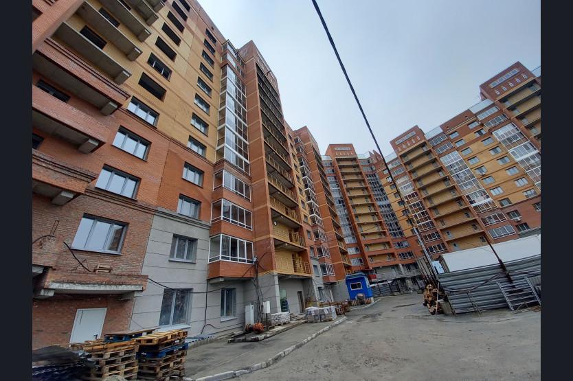 Вторую очередь долгостроя на ул. Есенина в Новосибирске построят за счет МИПов