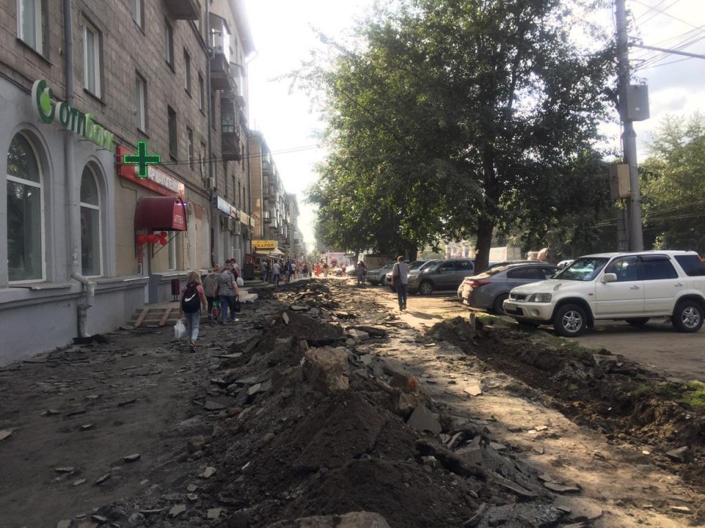 Законность ликвидации парковок на главных улицах Новосибирска проверят следователи