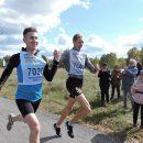 Необычный финиш устроили спортсмены на «Кроссе нации» в Искитимском районе