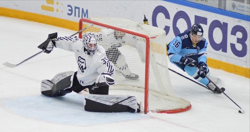 ХК «Сибирь» проиграл свой первый матч в новом сезоне КХЛ