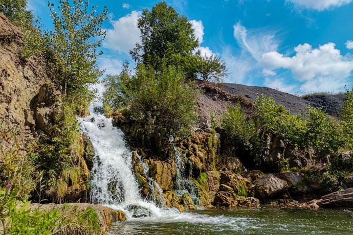 «Сибантрацит» проводит фотоконкурс «Беловский водопад – достопримечательность Новосибирской области»