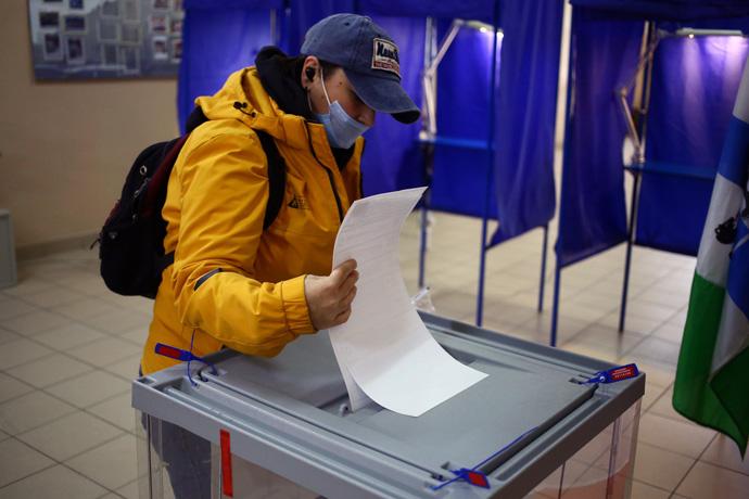 Почти 16% – явка избирателей на выборах в Госдуму в Новосибирской области на 15.00 часов