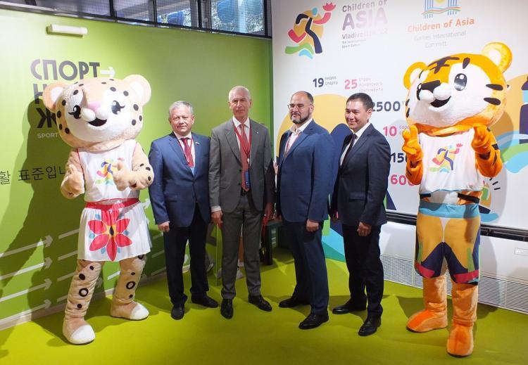 Владивосток готовится к проведению международных спортивных игр «Дети Азии»
