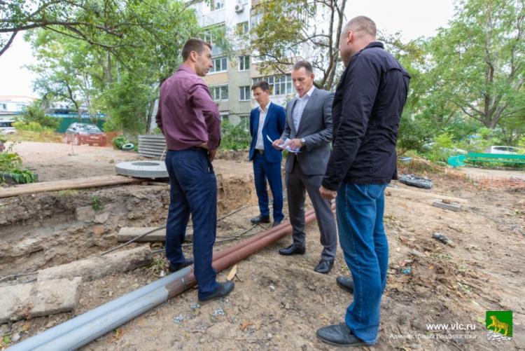 Во Владивостоке завершаются работы на теплосетях