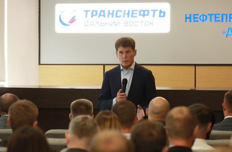Олег Кожемяко: Приморье набрало высокие темпы дорожного ремонта