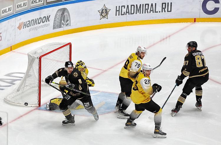 Приморский «Адмирал» одержал первую победу в сезоне
