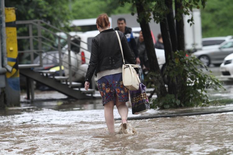 Сверхплановые осадки выпали во Владивостоке 21 сентября