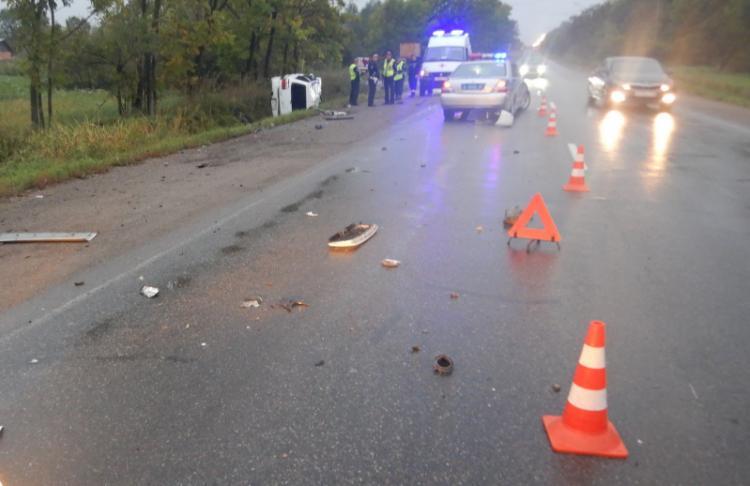 Смертельное ДТП с кульбитом произошло в Приморье