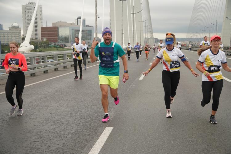 Больше 3000 участников собрал Юбилейный Galaxy Vladivostok Marathon