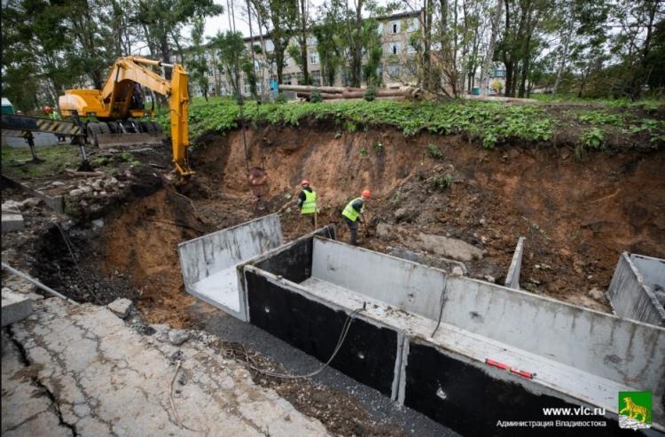 Полномасштабный ремонт теплосетей проходит во Владивостоке