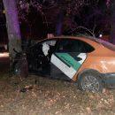 Каршеринговый Volkswagen попал в смертельное ДТП в Новосибирске